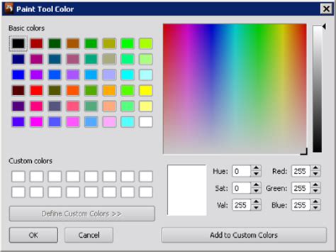 Paint Color Tool by Quickstart Tutorial