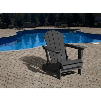 leisure line chaise adirondack 3 4 quot charbon gris