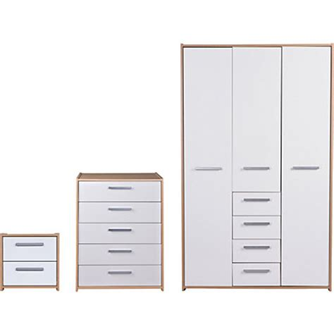 homebase bedroom furniture wardrobes triple oak sliding wardrobe package at homebase be