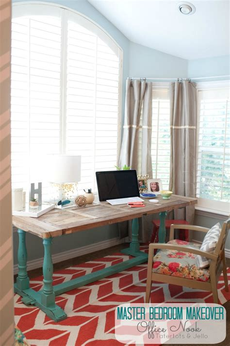 Master Bedroom Office Combo Design Room Decorating Before And After Makeovers