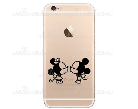 Mickey Mouse And Minnie Mouse In Iphone Semua Hp 1000 images about iphone stickers on watercolors apple stickers and