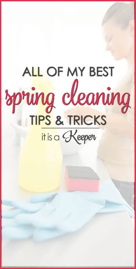 spring cleaning tips and tricks spring cleaning tips tricks it is a keeper