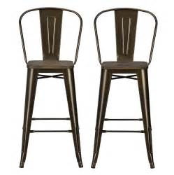dhp furniture luxor 30 quot metal bar stool