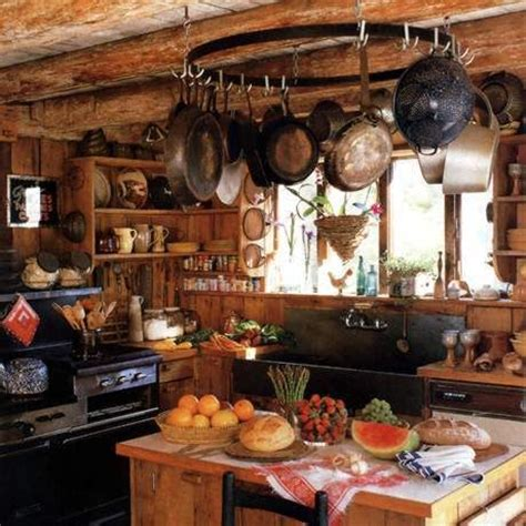 Where Can I Buy A Pot Rack This Kitchen Look At That Awesome Stove Where Can I