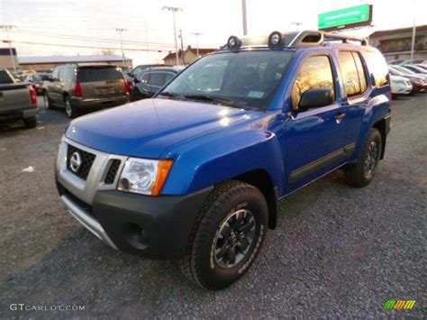 metallic blue 2014 nissan xterra pro 4x 4x4 exterior photo 88848772 gtcarlot