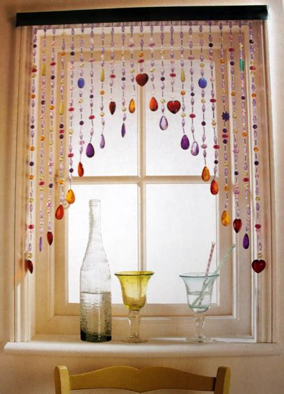 beaded window curtains glittering beads at the window panda s house