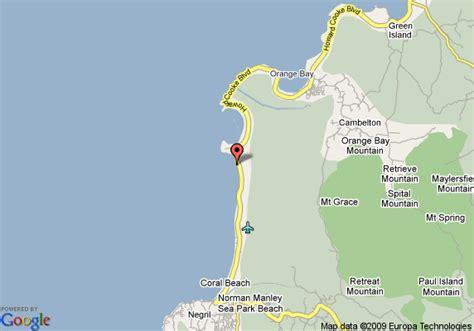 sunset resort jamaica map map of golden sunset villas negril