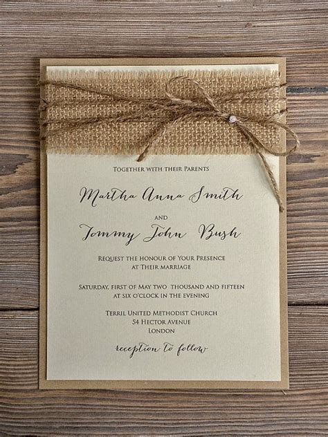 rustic photo wedding invitations best of diy rustic wedding invitations theruntime
