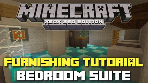 Bedroom Designs Minecraft Xbox Minecraft Xbox 360 Furniture Tutorial And Ideas Bedroom