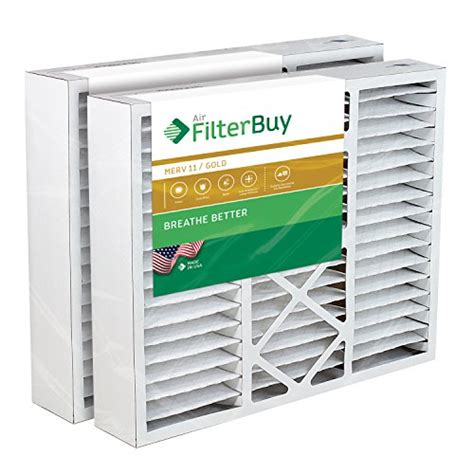 air and furnace filter filterbuy 20x25x5 honeywell fc100a1037 compatible pleated