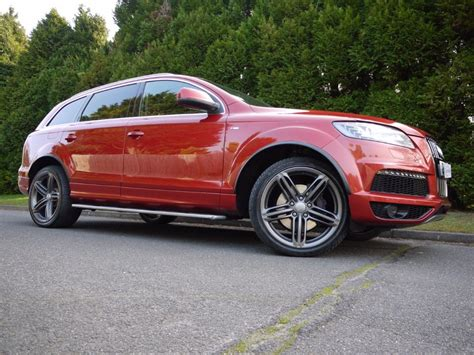 Audi Q7 Rot by Used Garnet Pearl Audi Q7 For Sale Surrey