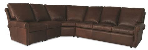 leather sectional atlanta sterling reclining leather sectional leather creations
