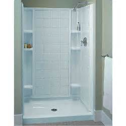 sterling ensemble white vikrell 3 alcove shower