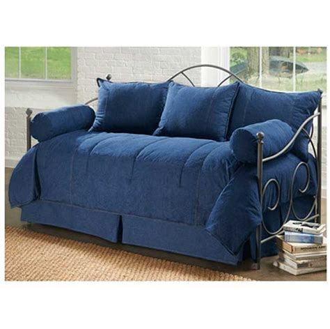 what size comforter for daybed american denim daybed set karin maki blue jean day