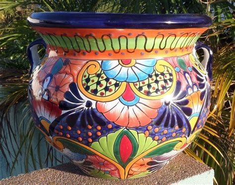 Mexican Planter by Mexican Pottery Planters Adastra
