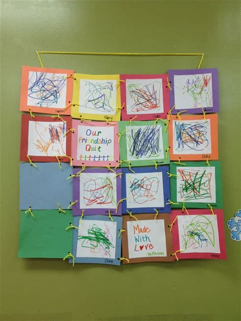 Paper Quilt Craft - paper quilt craft for kindergarten creative and