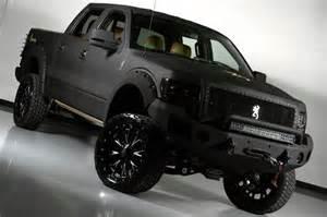 Custom Truck Wheels Canada 2012 Lifted Matte Black Ford Truck Www