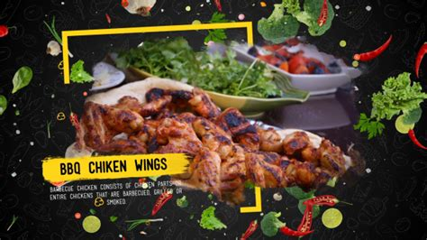 Food Menu Presentation Commercials Envato Videohive After Effects Templates Food Menu Slideshow After Effects Template Free