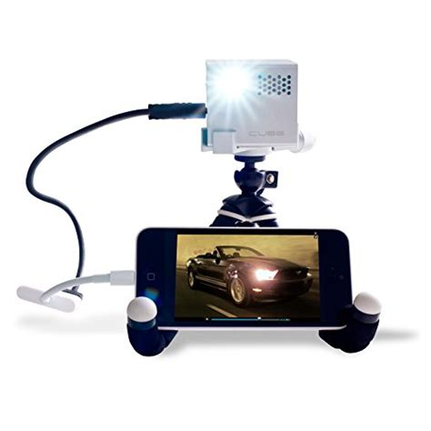 mobile projector cube tvaudiomarkt cube mobile projector a 2 inch portable