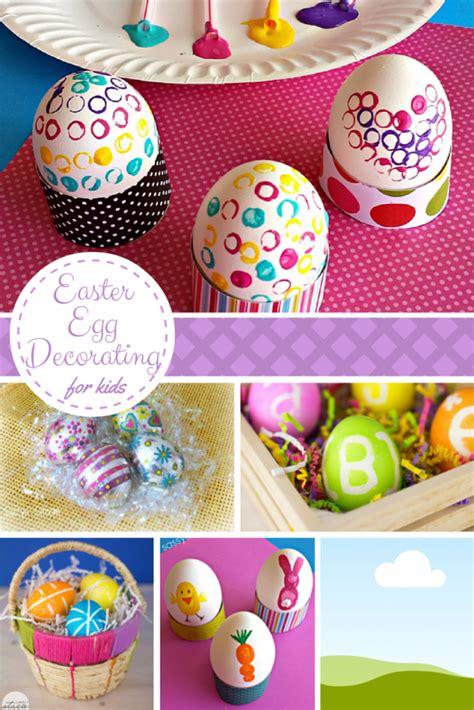 egg decorating ideas easter egg designs for kids