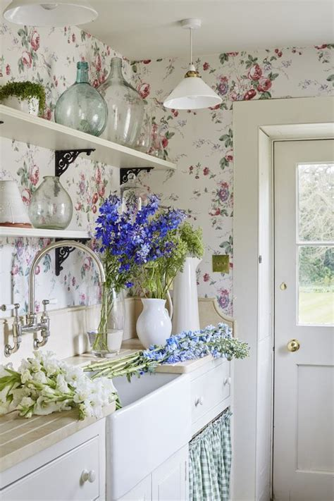 best 20 shabby chic wallpaper ideas on
