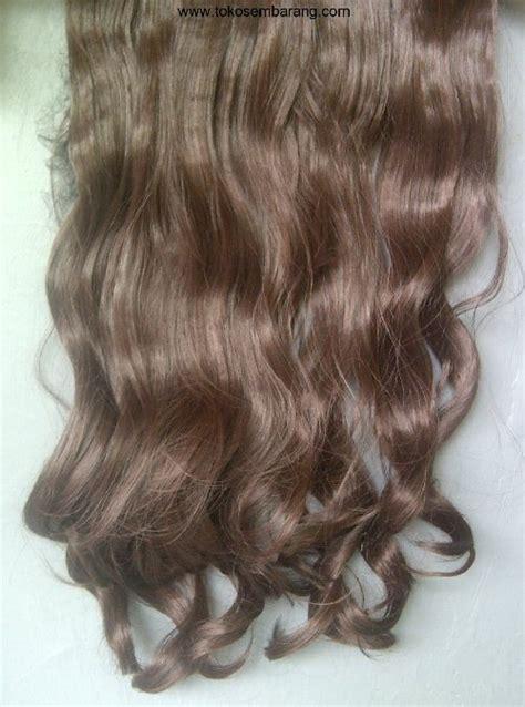 Catok Curly Termurah termurah kualitas hair clip curlywave 3 layer ombre big layer bando wig bangs poni