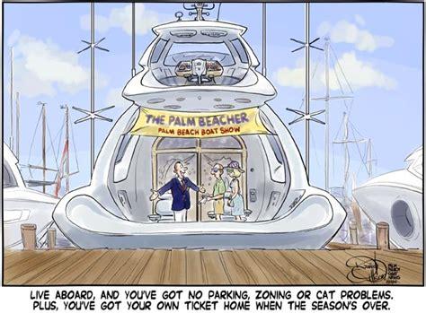 cartoon pleasure boat palm beach boat show pleasure and pain palm beach cartoons