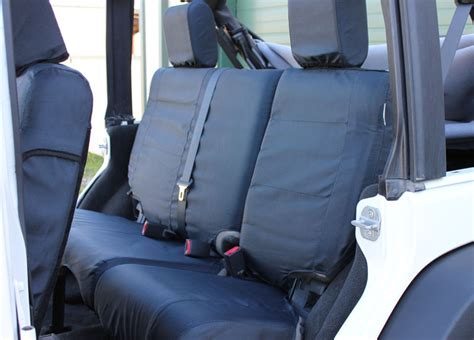 Jeep Tactical Seat Covers New Jeep Jk Wrangler Ballistic Tactical Black Seat Cover