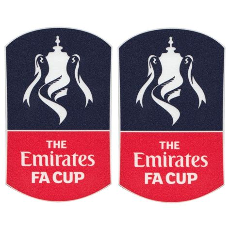 emirates fa cup patch pair 2015 2017