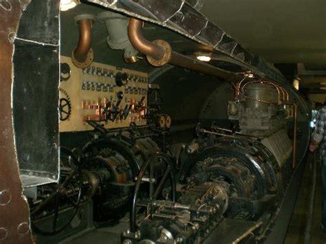 sottomarino interno interno sommergibile foto di deutsches museum