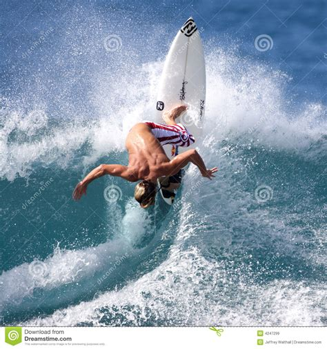 andy irons pro surfer editorial stock image image 4247299