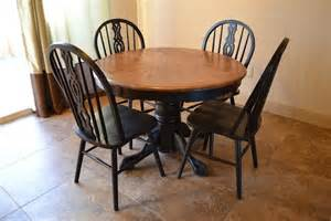 refinishing kitchen table and chairs the home depot 35 best images about refinished oak tables on