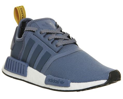 mens adidas nmd runner tech ink white trainers shoes ebay
