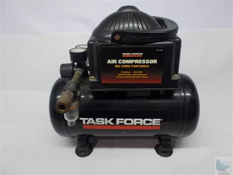 task model 83691 portable 2 gallon 100 psi air compressor ebay