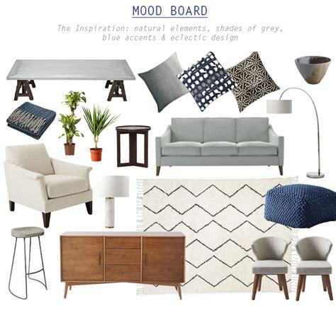 Danish Style Armchair Soft Grey Interior Design Scheme Flat 15