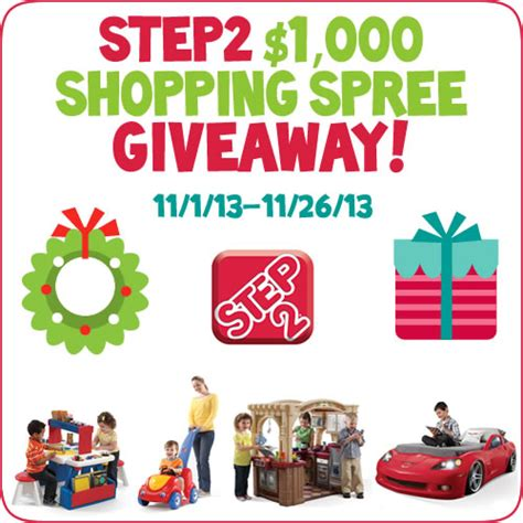 Shopping Spree Giveaway - step2 1 000 shopping spree giveaway 187 little inspiration
