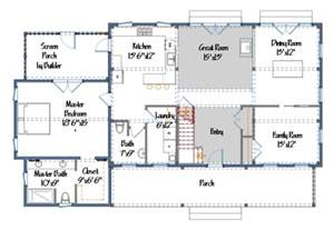 Barn Style House Floor Plans Popular Barn House Plans