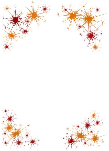 new year display borders firework border clip at clker vector clip