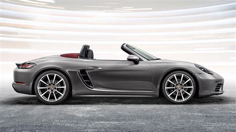 red porsche boxster 2017 2018 porsche 718 boxter s review and specs 2018 2019