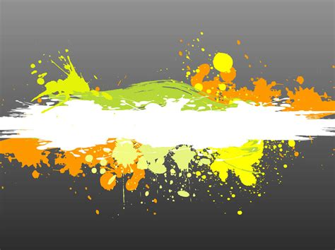 colorful paint splatter vector graphics freevector