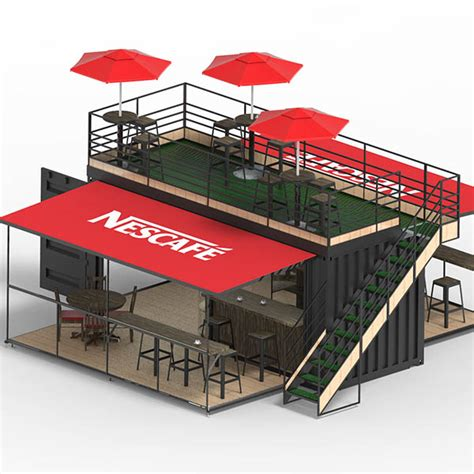 Home Design 3d 2016 by Nescafe Coffee Shop Container By Dfi