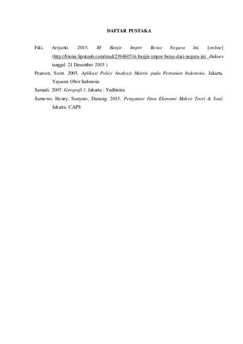 Pengantar Matematika Untuk Ilmu Ekonomi Dan Bisnis M Nababan 1 makalah pengantar ilmu ekonomi teknologi industri pertanian univers