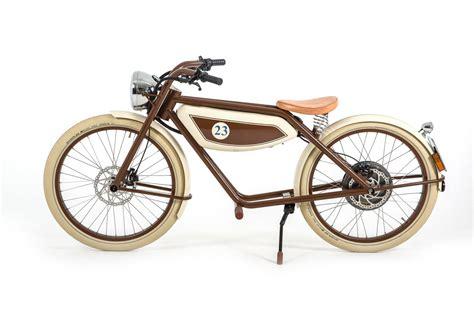 Elektro Motorrad Retro by Retro E Bikes Aus Drei L 228 Ndern Mit Stil Zur Porsche