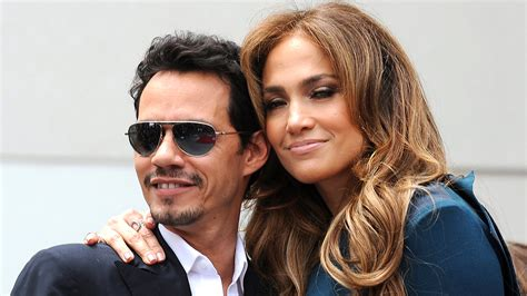 J Lo Marc Ew by J Lo And Marc Anthony Reunite For A Pic With Their New