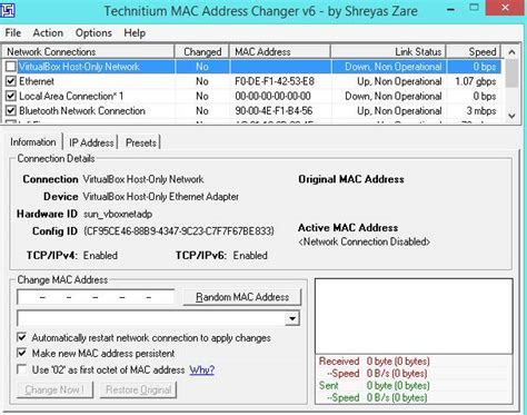 amac address change how to change mac address in windows 7 8 10