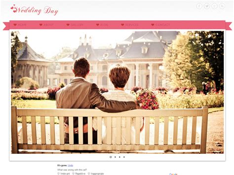 bootstrap themes free wedding wedding day free bootstrap template for wedding freemium