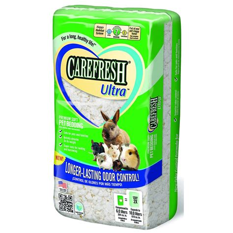 carefresh pet bedding carefresh ultra pet bedding size 10 liter