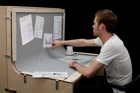 benddesk introduced the desk that is a touch screen w