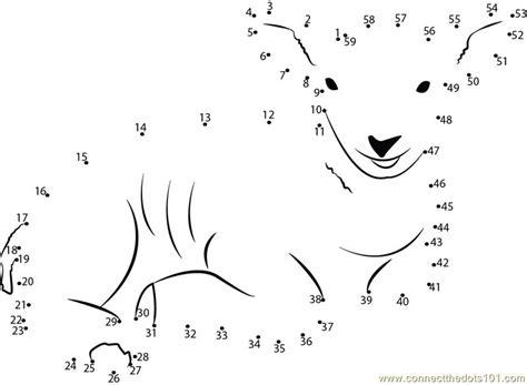 printable dot to dot sheep sweet smile of lamb dot to dot printable worksheet
