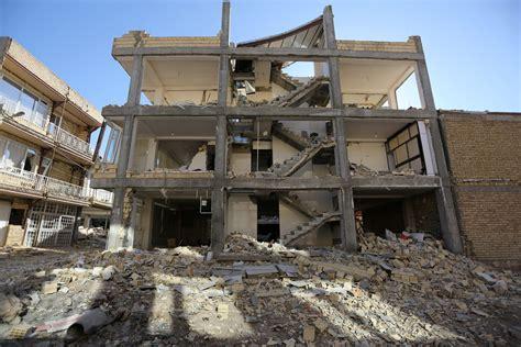 earthquake kermanshah photos show earthquake damage in iraq and iran business